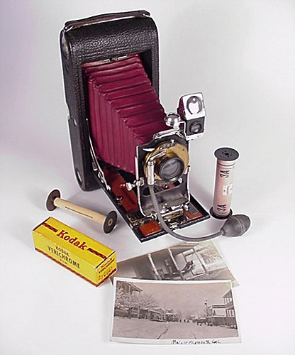 3A Folding Pocket Kodak Camera