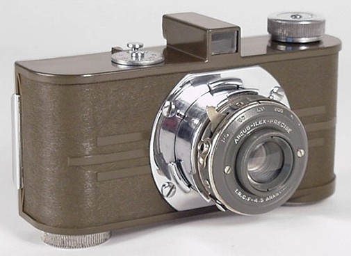 Argus Model A Camera in Olive-Drab Bakelite