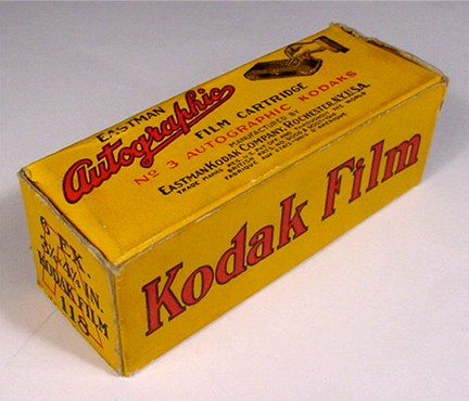 Eastman Autographic Film Cartridge, Size A118