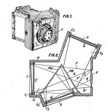Bermpohl Light Path, from Patent Drawing