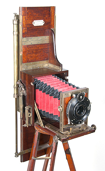 Professor Dr. Miethe's Three-Color Camera