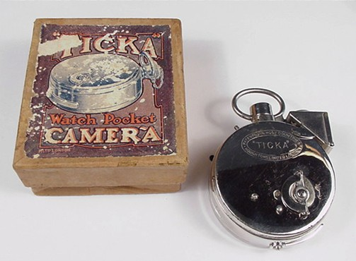 Ticka Camera and Box
