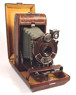 Vanity Kodak Camera With Matching Clamshell Case