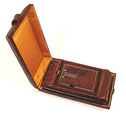 Closed Vanity Kodak Camera in Clamshell Case
